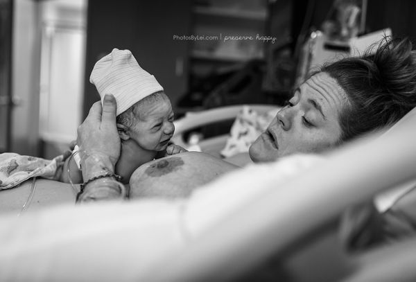 <strong>Rogers:</strong> Amazing! This baby, just 33 minutes old, is lifting her head!<br><br><strong>Jessica:</strong>