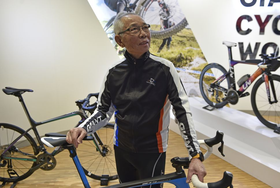 King Liu, 82, is chairman of the world's biggest bicycle maker -- Giant Manufacturing Co. in Taiwan. He might be an unli