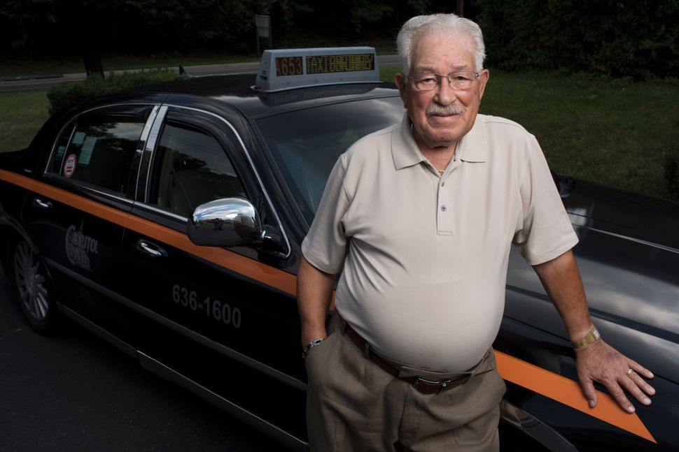 Stanley W. Tapscott, 89, may be the oldest cab driver in Washington, D.C. He plans to retire soon after more than 50 years on