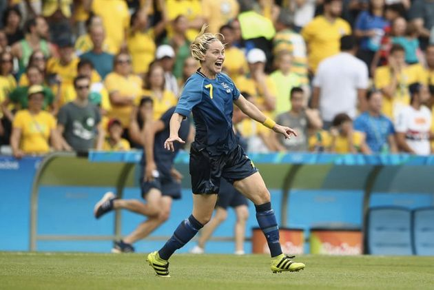 Lisa Dahlkvist  is one of four out members of the Sweden's women's soccer