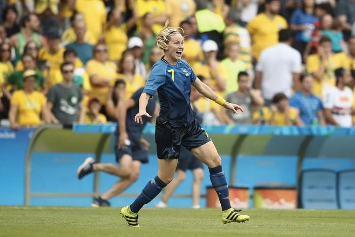 Lisa Dahlkvist is one of four out members of the Sweden's women's soccer team