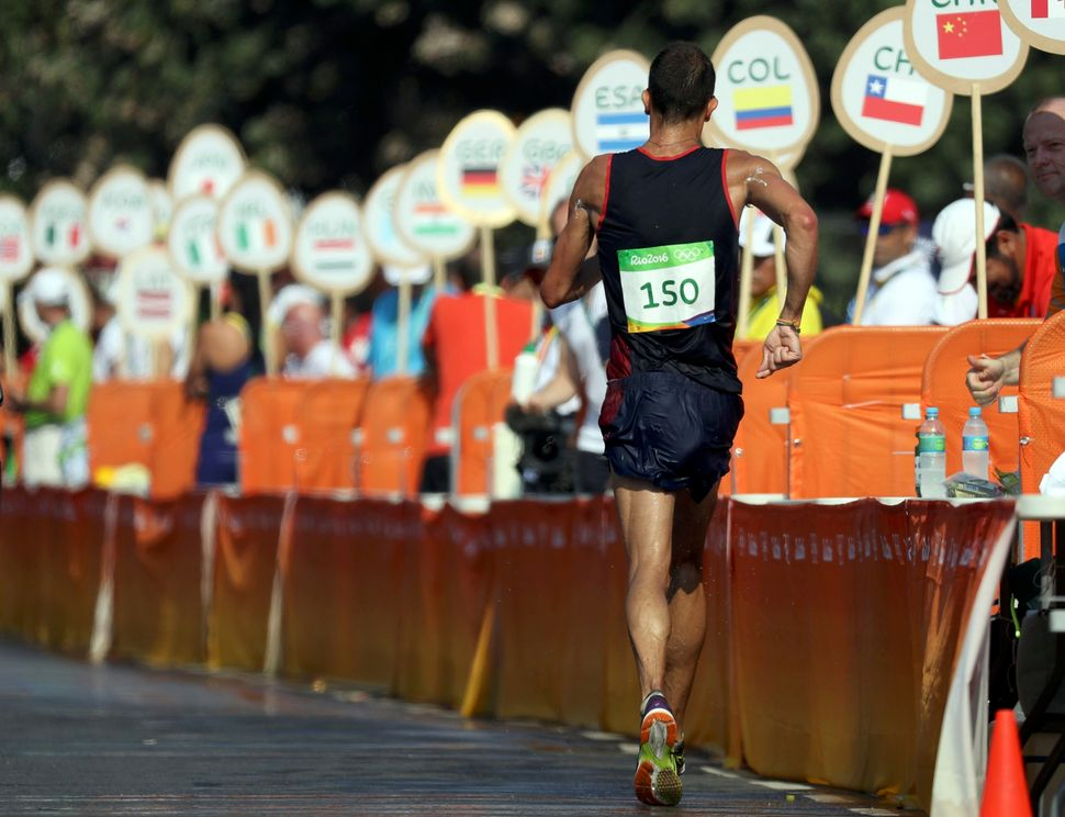 An Olympic Race Walker Pooped Himself, Started Bleeding ...