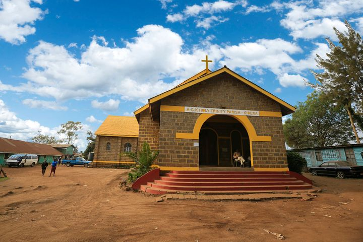"The ""Colour in Faith"" project is working to paint houses of worship yellow across Kenya."