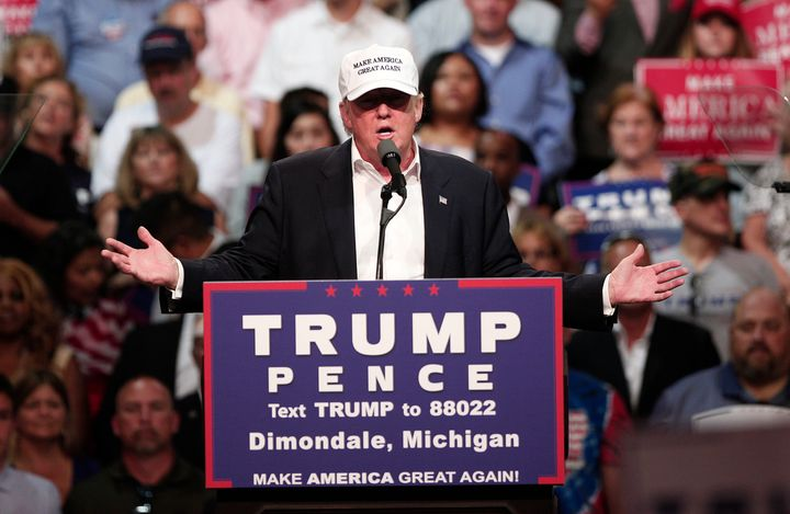 Donald Trumphas a history of treating racial groups as monoliths.