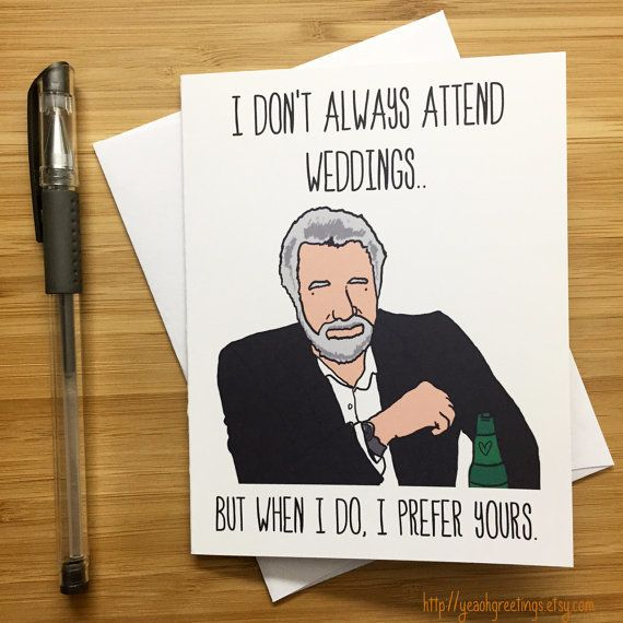19 Wedding Cards Your Newlywed Friends Will Actually Want To Receive ...