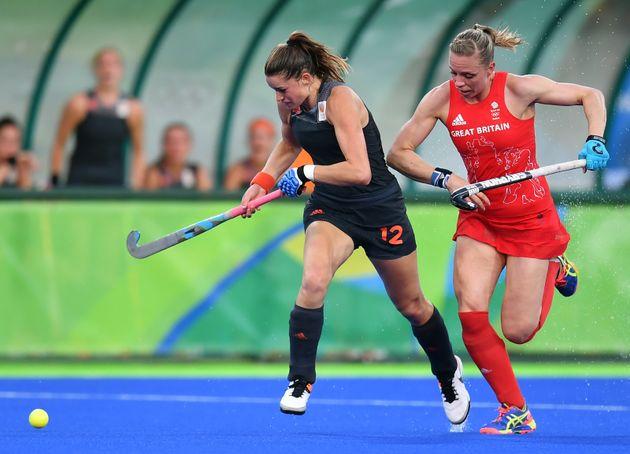 Kate Richardson-Walsh during the