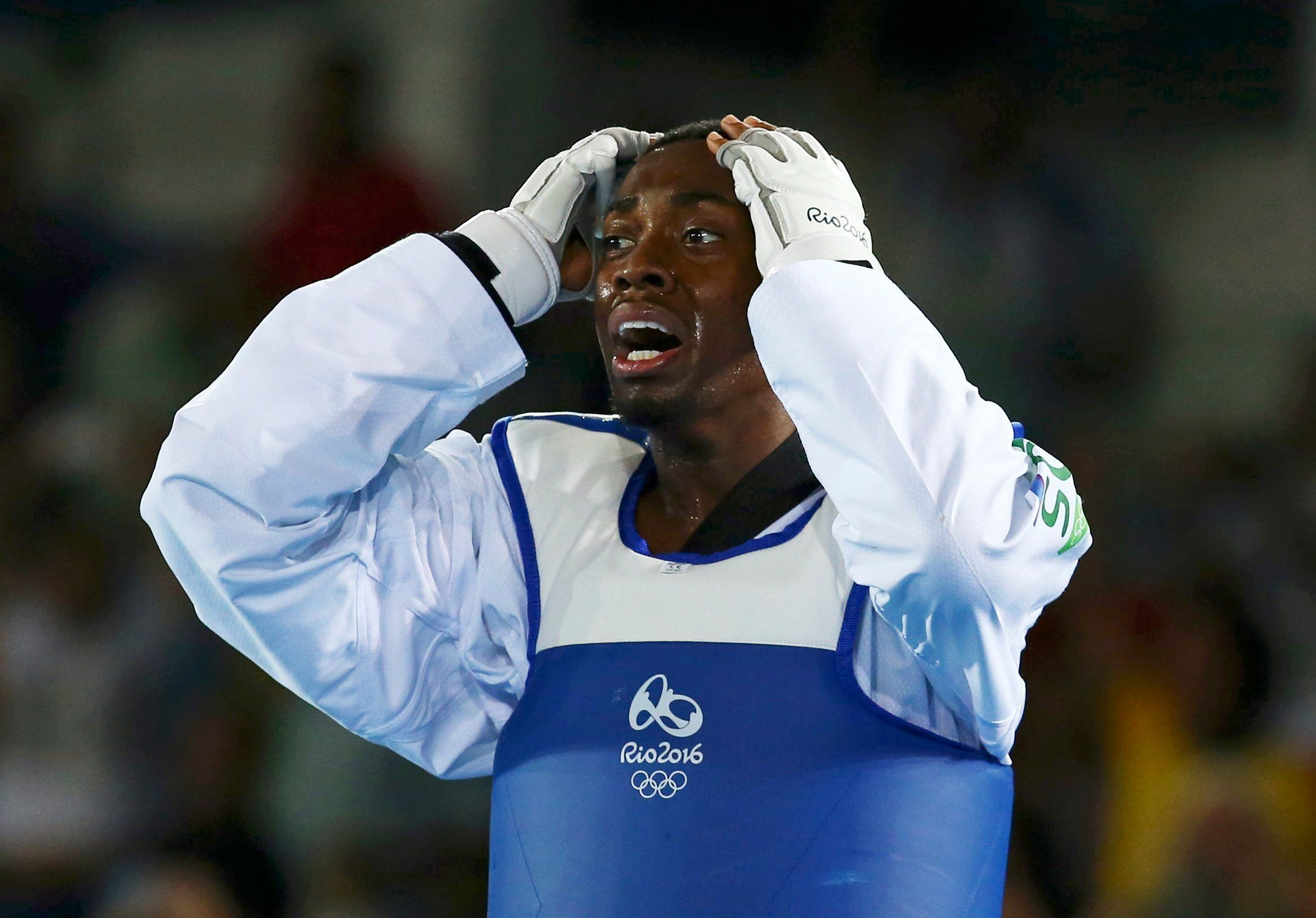 Lutalo Muhammad won silver on Friday