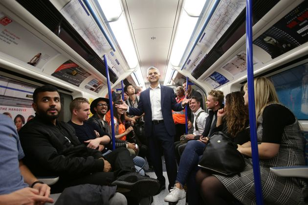 Sadiq Khan said 'middle-aged clubbers' like him would use the
