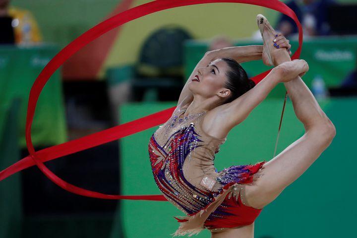 Olympians likeAustralia's Danielle Princemakerhythmic gymnasticswork hard to createroutines tha