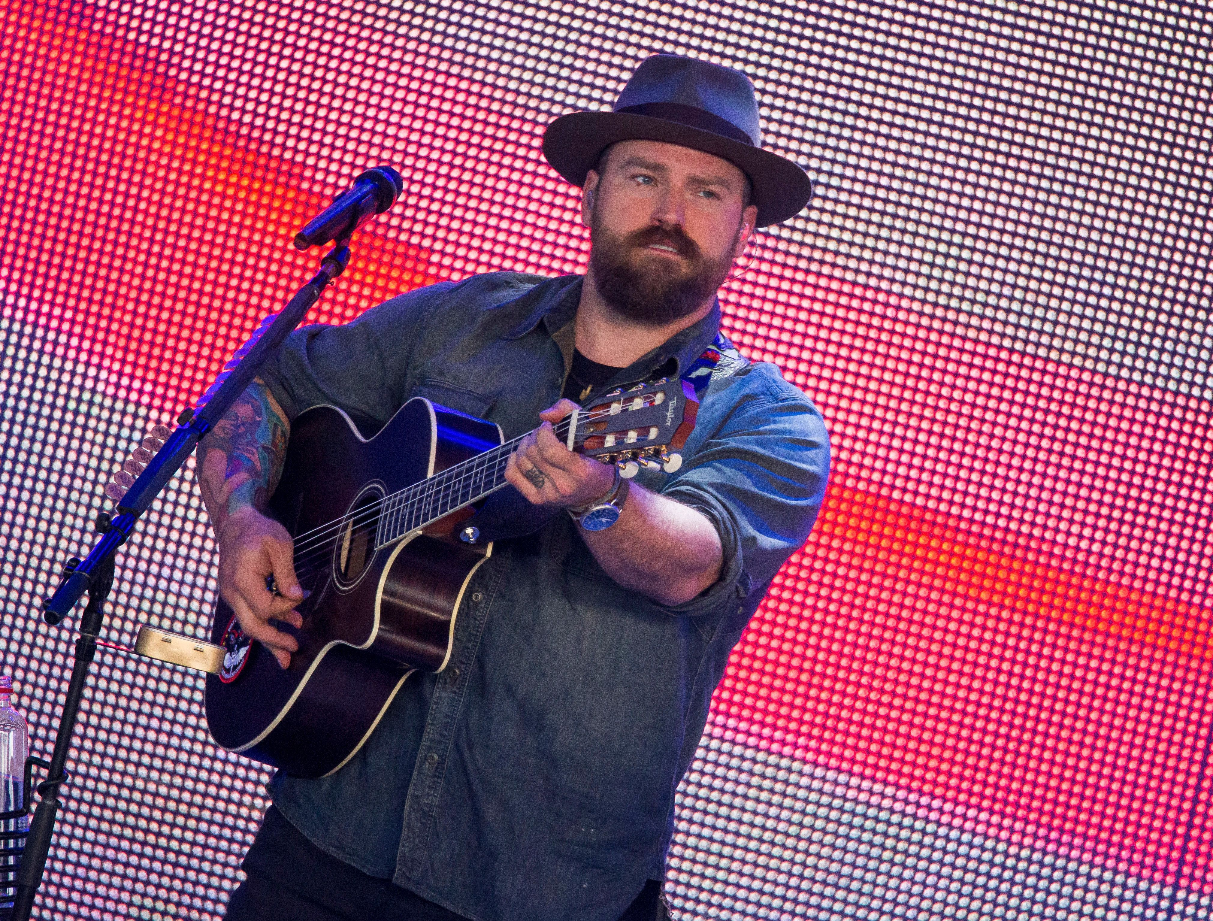 CLARKSTON, MI - JULY 02:  Zac Brown performs during the Black Out The Sun Tour at DTE Energy Music Theater on July 2, 2016 in Clarkston, Michigan.  (Photo by Scott Legato/Getty Images)