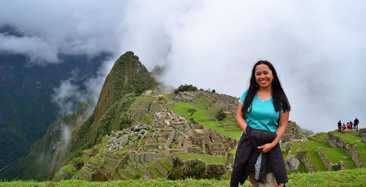<p>I hiked solo to Machu Picchu.</p>