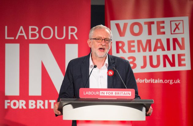 Jeremy Corbyn had been criticised by some of his MPs for a perceived lacklustre EU referendum