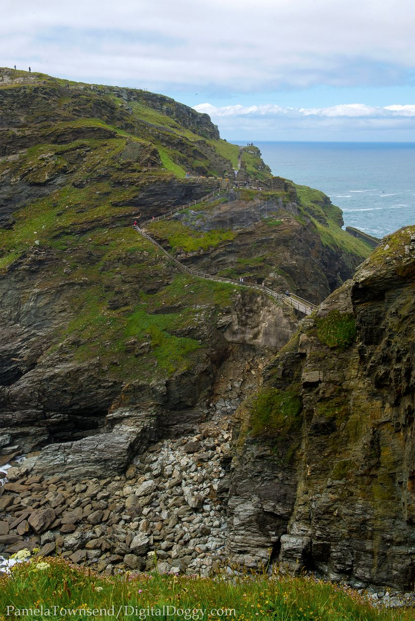 <i>Path to Tintagel castle ruins</i>