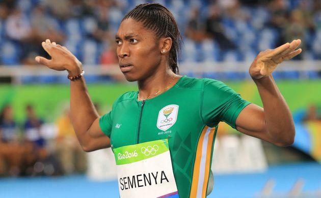 Caster Semenya Cruises To Gold In 800m