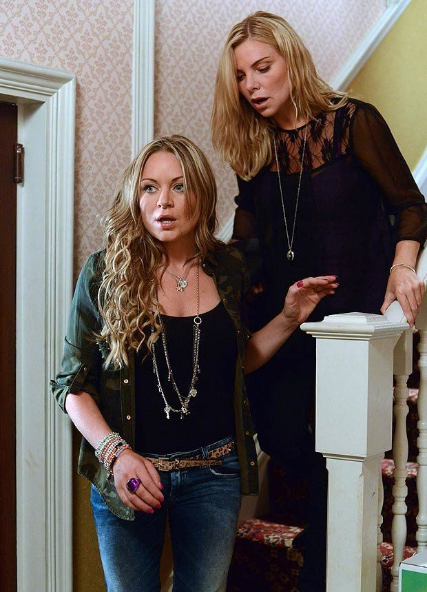 Ronnie and Roxy Mitchell as also leaving