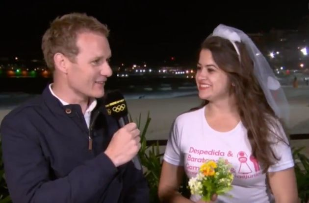 Bride-to-be Maria was on her hen do when she joinedDan Walkerfor a chat live on