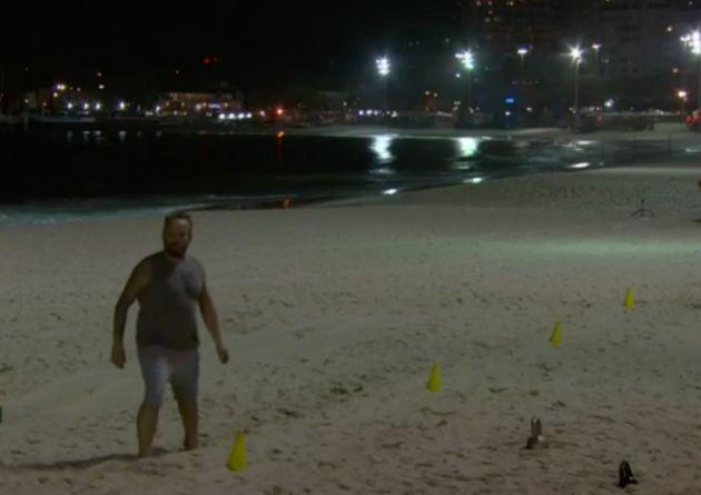 BBC Four captured'Antony Worrall Thompson' exercising on the