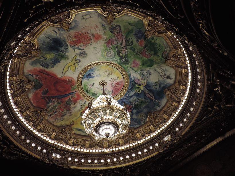 Paris Opera House Ceiling - Marc Chagall