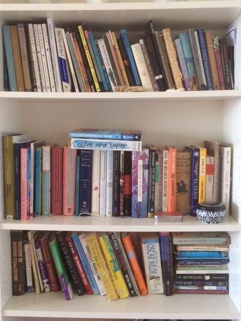 On the shelf of my imagination.
