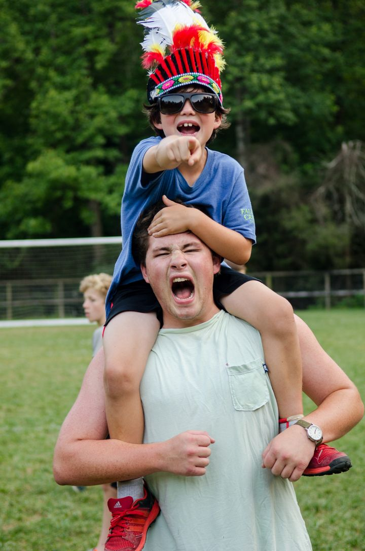 Summer camp: A place where the most inspiring people might also be the smallest.