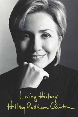 <i></i>Age: 56, 2004, She publishes <i>Living History</i>, her autobiography.