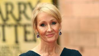 Author J.K. Rowling poses for photographers at a gala performance of the play Harry Potter and the Cursed Child parts One and Two, in London, Britain July 30, 2016. REUTERS/Neil Hall