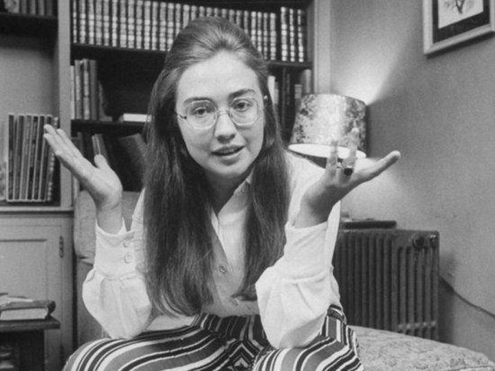 Age: 17, 1965, She enrolls at Wellesley College in Massachusetts, where she focuses on political science.