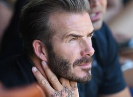 David Beckham Gets Huge New Neck Tattoo