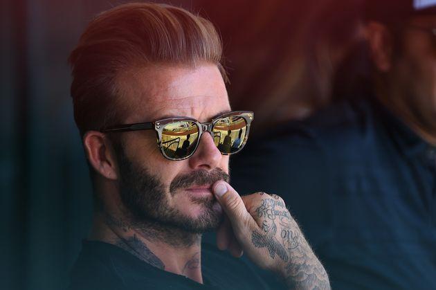 David Beckham Gets Huge New Neck Tattoo Of A