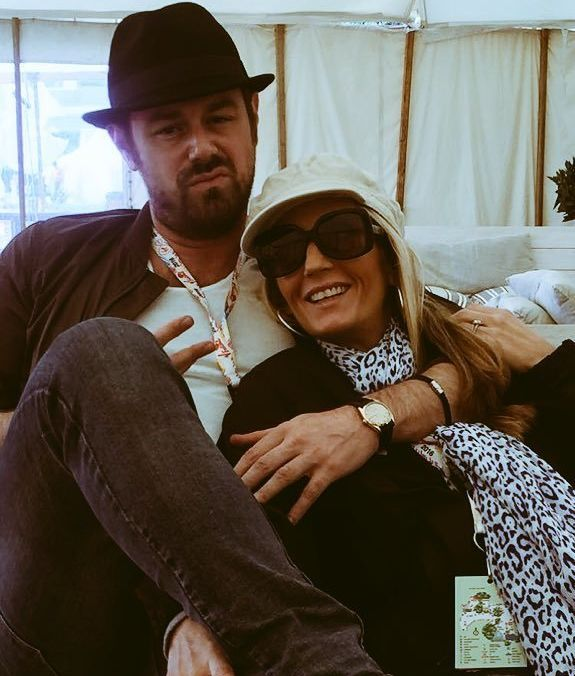 Danny Dyer and his fiancée Jo Mas were celebrating their joint stag and hen dos at V