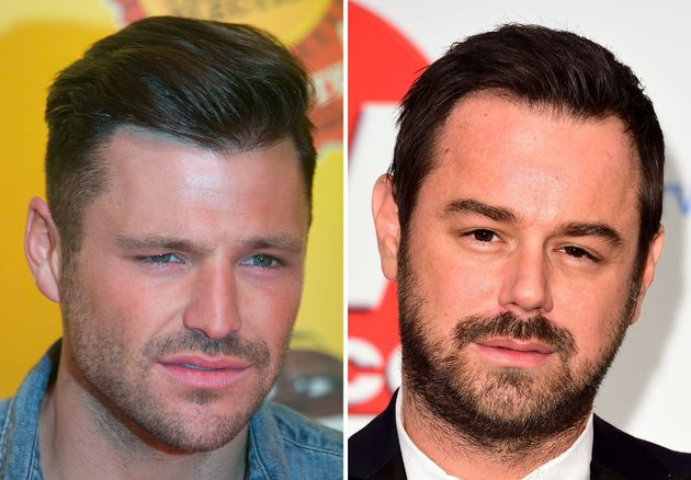 Mark Wright and Danny