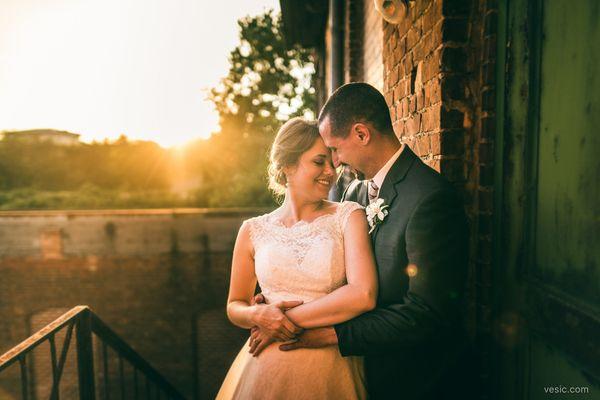 """Molly and Mark overlooking a sunset last night atThe Cotton Roomin Durham, North Carolina."" --<i>Hooman Ba"