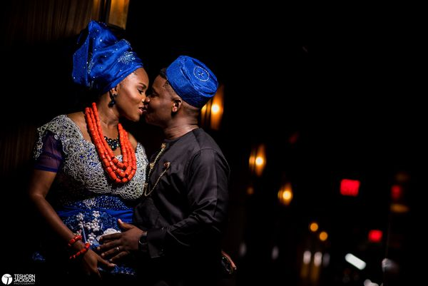 """""""Mary Joy and Oludayo got married in Dallas, Texas over the weekend surrounded by their Nigerian friends and family."""" --<i>&n"""