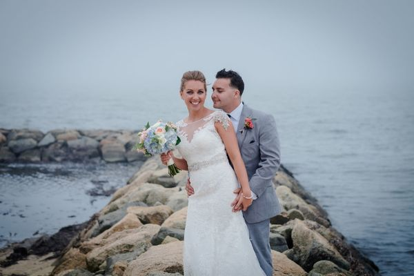 """""""Carly and John just got married this weekend in Cape Cod."""" --<i>ChristopheZydek</i>"""