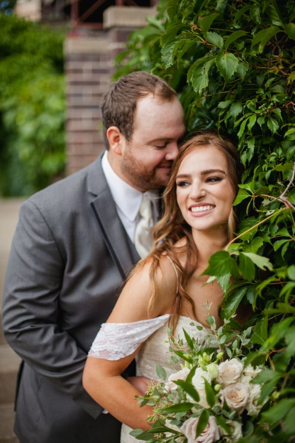 """""""Newlyweds Jenna and Will threw one helluva party in downtown Madison, Wisconsin on Saturday!"""" --<i>Laura Zastrow</i>"""