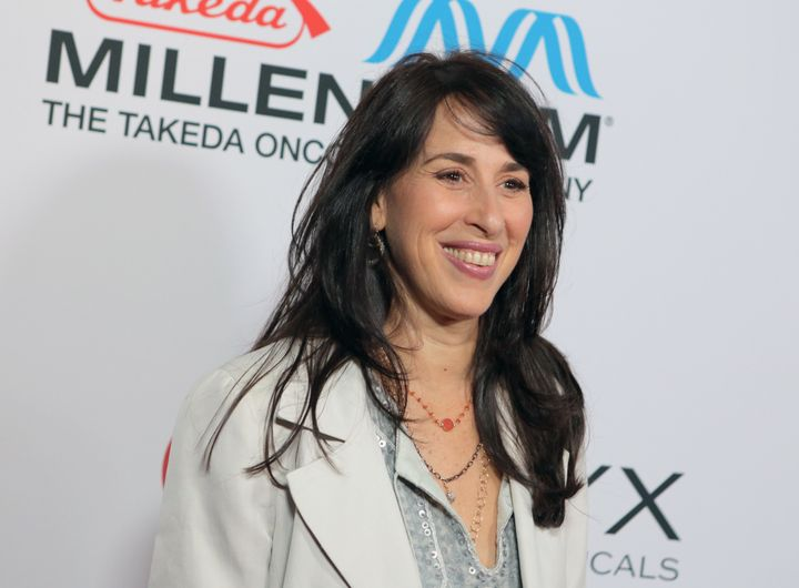 Actress Maggie Wheeler attends a comedy celebration hosted by Ray Romano on Nov. 9, 2013, in Los Angeles, CA.