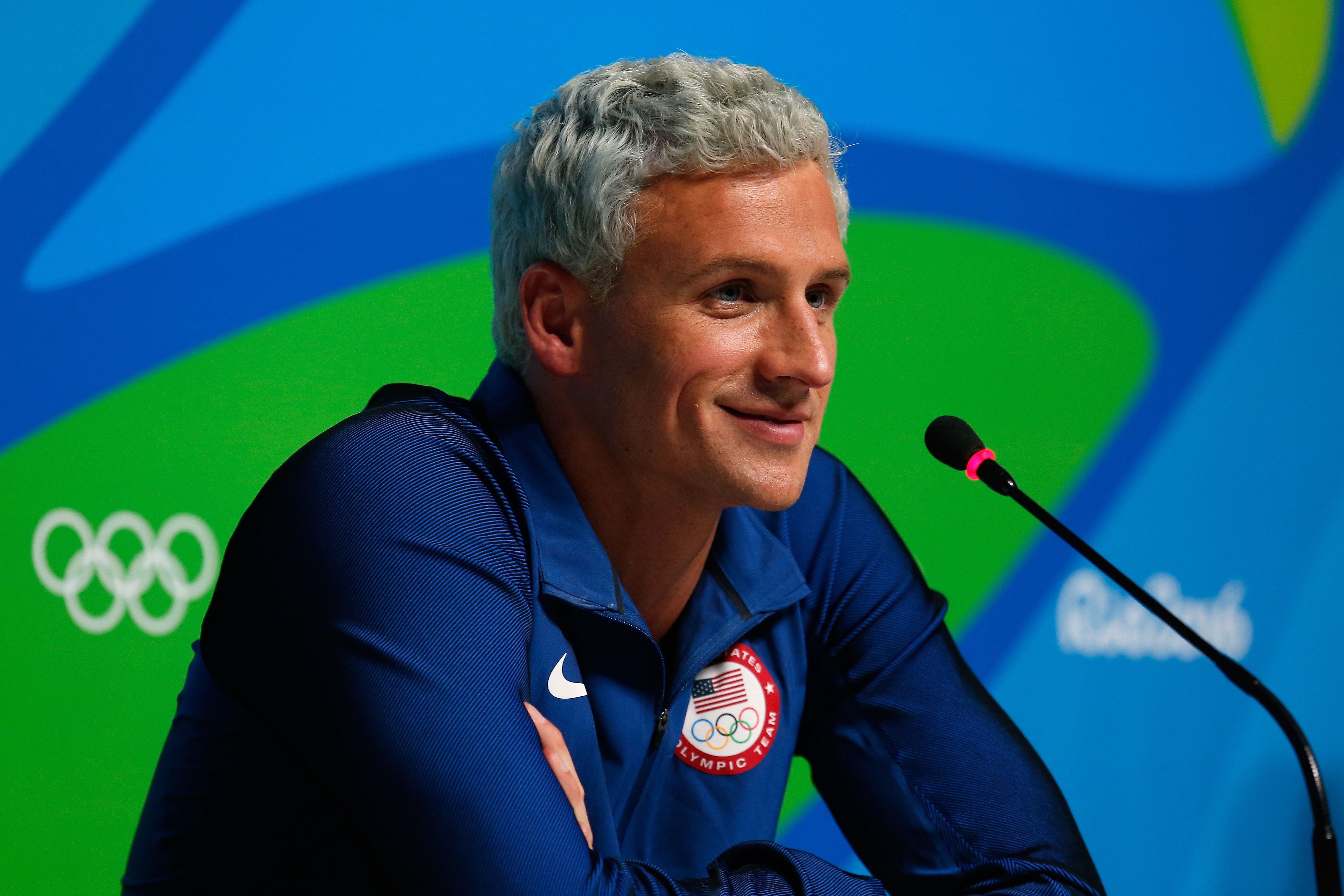 Ryan Lochte and three other Olympic swimmers have been criticized for fabricating a story about being robbed in Rio.