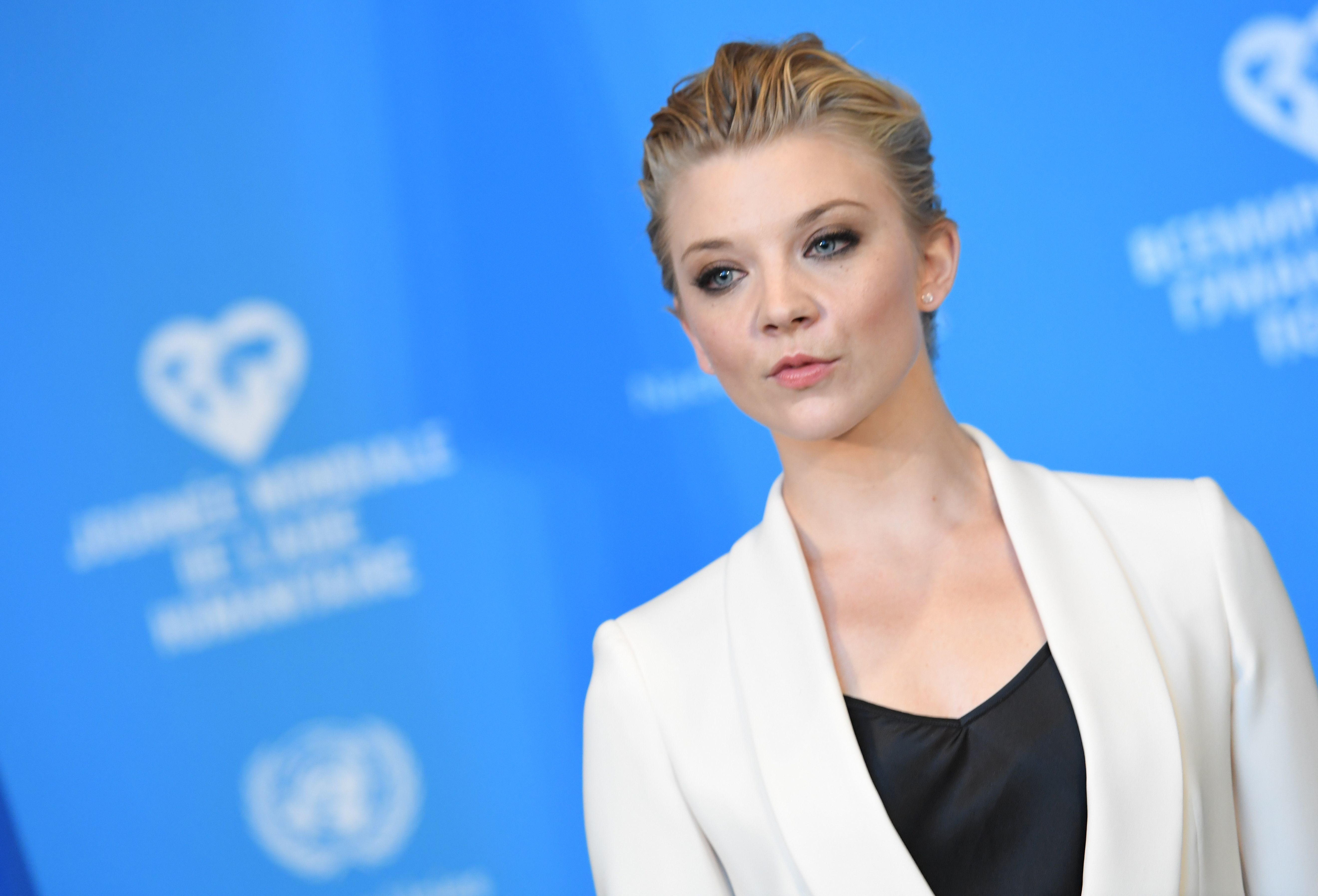 Actress Natalie Dormer attends the 'One Humanity' event for World Humanitarian Day 2016 at United Nations Headquarters in New York on August 19, 2016. / AFP / Angela WEISS        (Photo credit should read ANGELA WEISS/AFP/Getty Images)