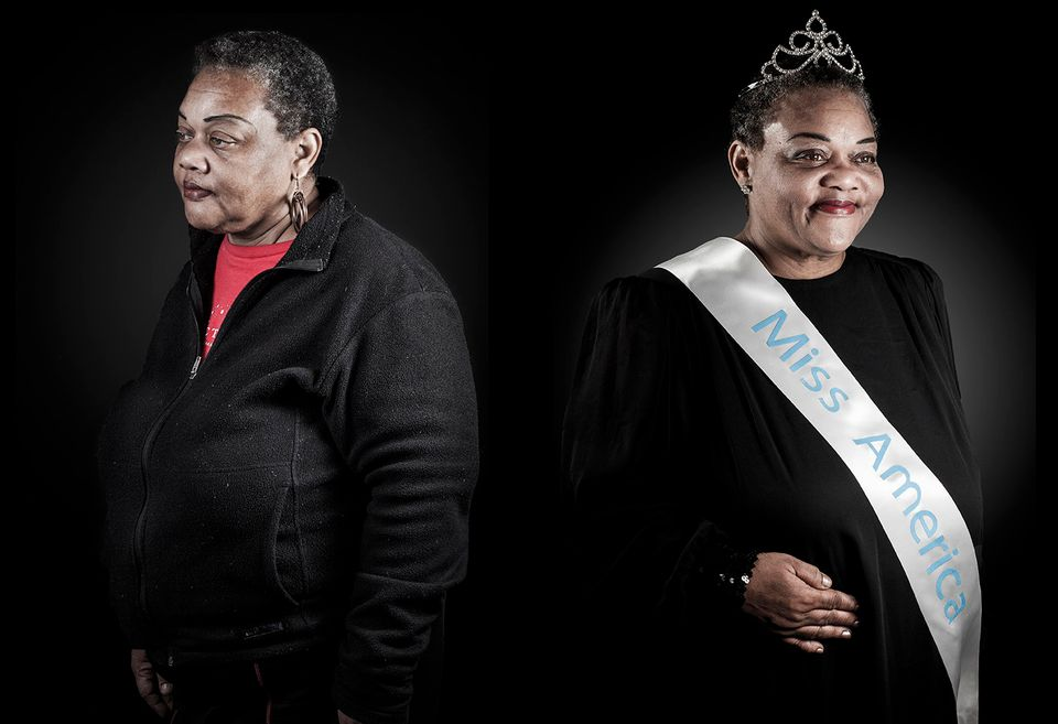 A Photographer Captured Homeless Men And Women As They Dream To Be