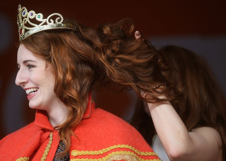 Queen of the Redheads Emma Ni Chearuil, 2016.