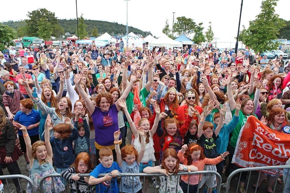 The Irish Redhead Convention in 2014.