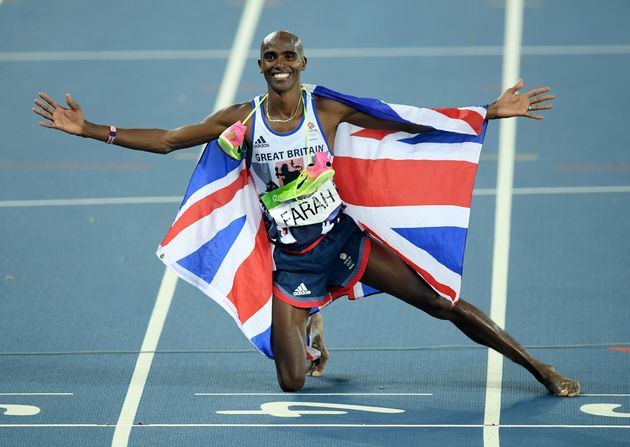 The table counts individual winners, such as double gold medalist Mo