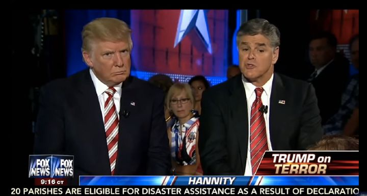 Donald Trump has done several interviews in August with Fox News' Sean Hannity, though none with CNN, MSNBC, ABC, N