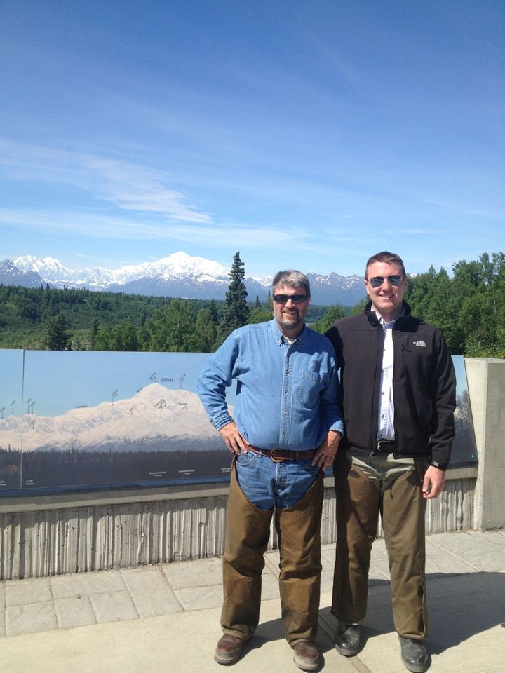 My dad and I visited Denali National Park in 2013. We rode our motorcycles from Ohio to Alaska.