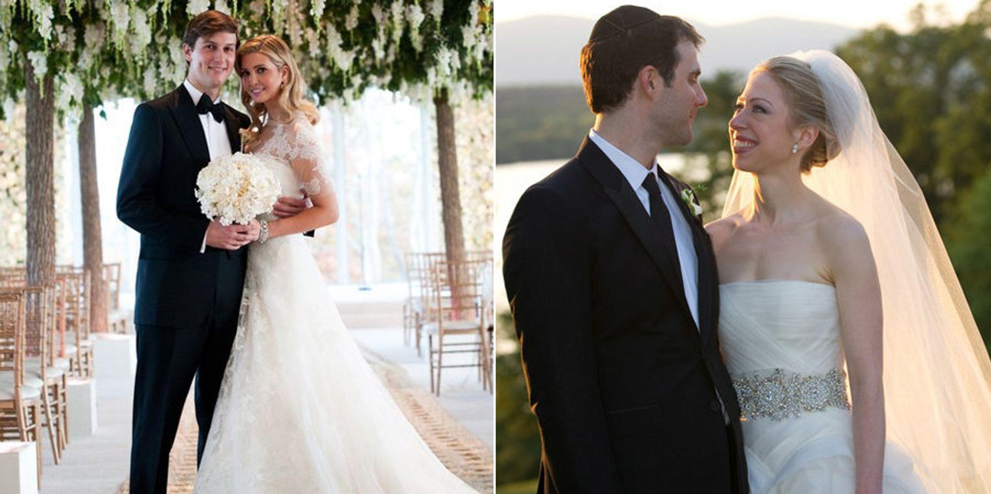 entry ivanka trump chelsea clinton weddings bbfebdab