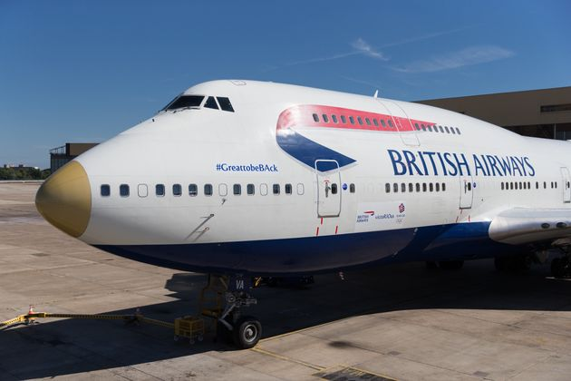 The gold-nosed British Airways aircraft carrying the Olympic athletes home is named 'victoRIOus'following...