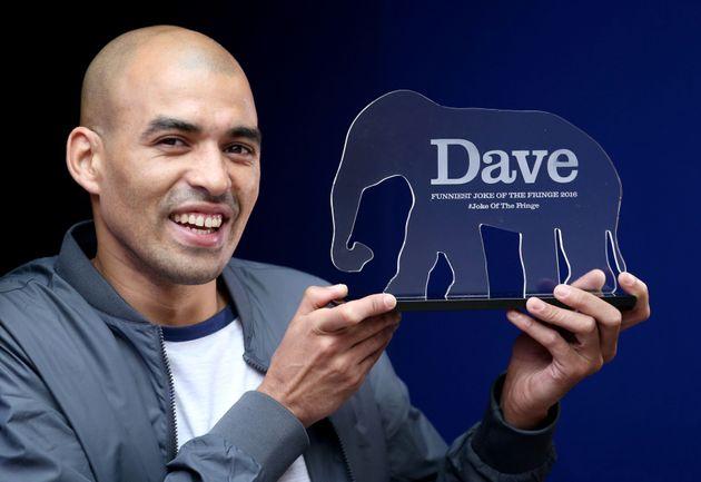 Masai Graham won the'Dave's Funniest Joke of The Fringe'