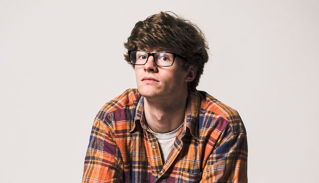 Alex Kealy performs his show at the Fringe'sUnderbelly Med Quad at