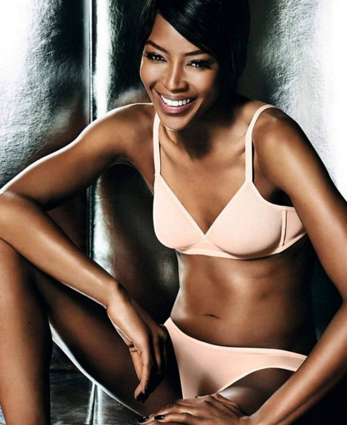 Naomi Campbell Stars In Stunning New Lingerie Campaign ...