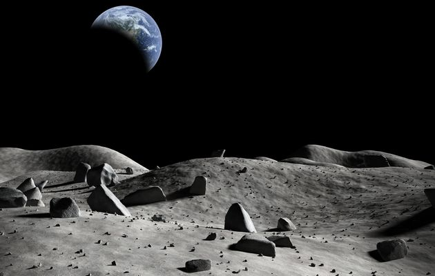 Chinese Scientist Calls China's Plan To Build A Giant Moon Base